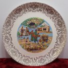 Souvenir Collector Plate New Mexico Porcelain Vintage