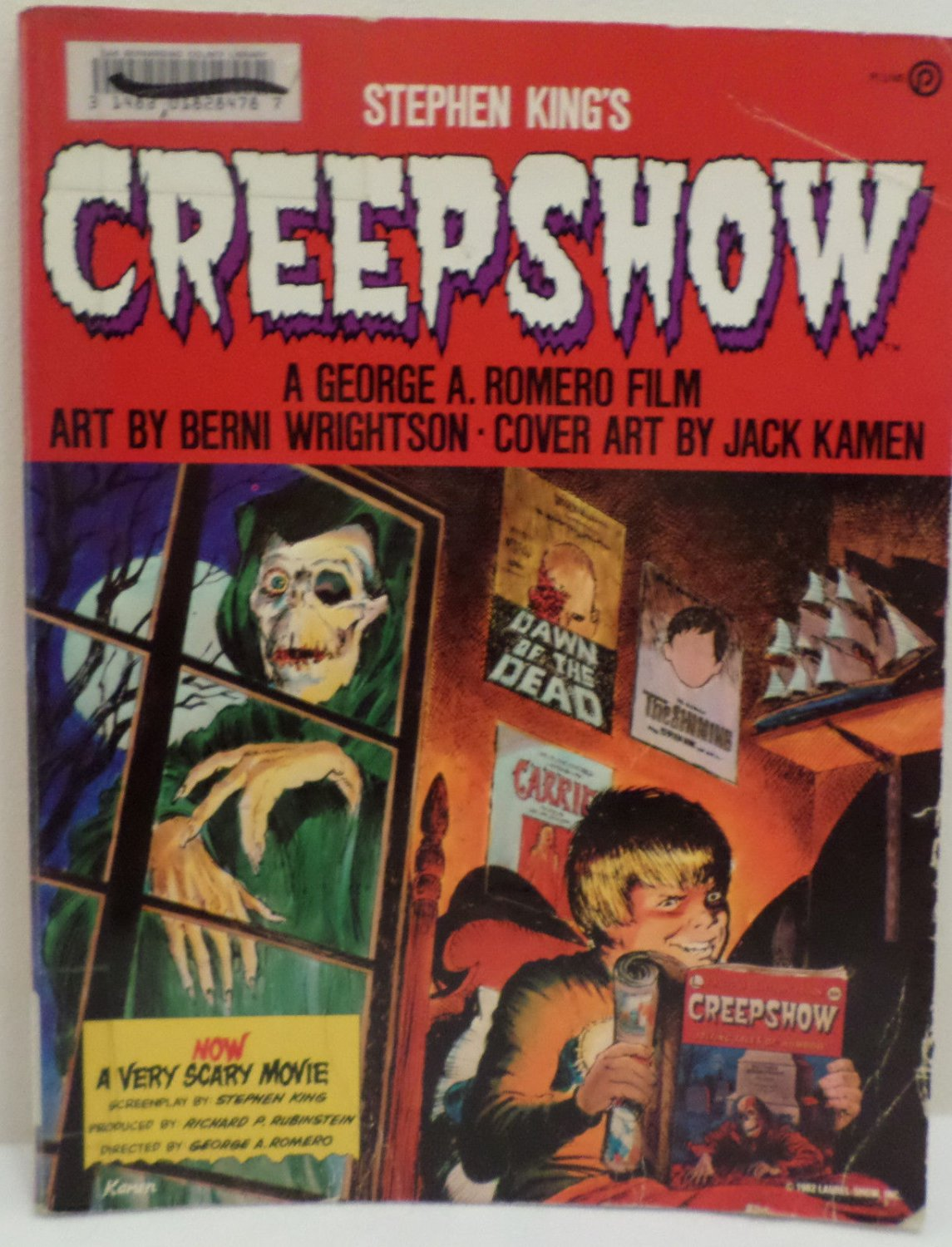 Creepshow by Stephen King A George A Romero Film Penguin Publishing 1982