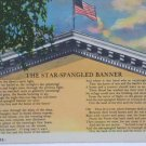 Antique Postcard The Star Spangled Banner by Franes Scott Key Unposted