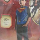 Halloween Costume Superman Boys size Large 10 - 12 by Rubies