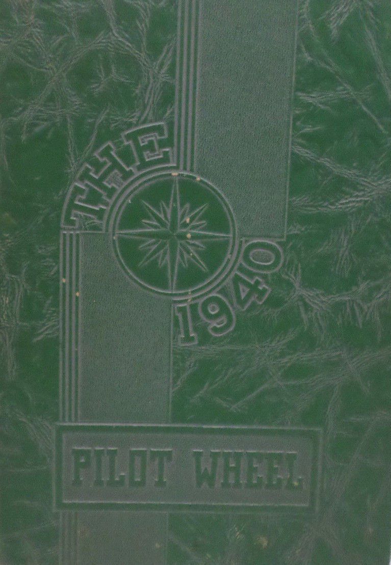 Antique 1940 Annual Yearbook Phineas Banning High School Wilmington California