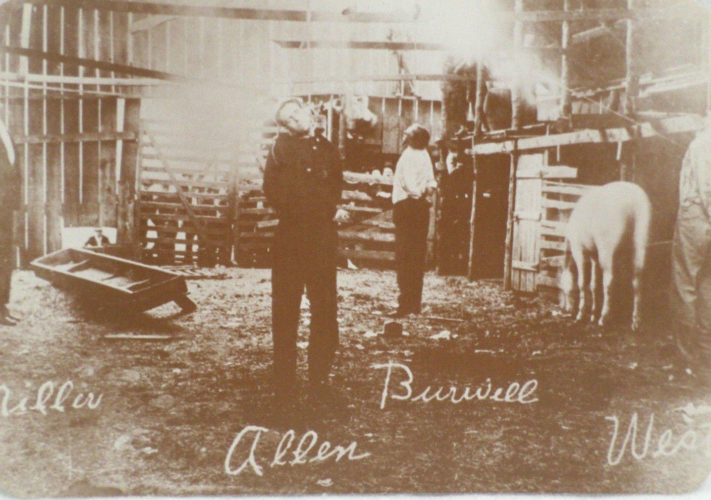 Postcard Old West Collectors Series Vigilante Justice Hanging