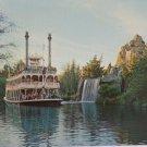 Disneyland Postcard Mark Twain Rivers of America Unposted Unused Divided USA