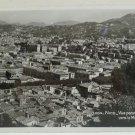 Antique Real Photo Postcard NICE Vue Panoramique Vers le Mont Chauve
