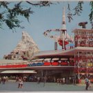 Disneyland Postcard The Mattahorn in Tomorrowland Unposted Unused Divided USA