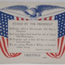 Antique Patriotic Postcard USA Flag for Memorial Day Unposted Dividef