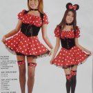 Halloween Costume Mouse Girls Size Small by Charades