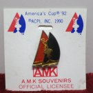 A.M.K. Souvenirs Collector Pin New on Card