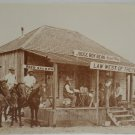 Postcard Old West Collectors Series Judge Roy Bean 1825 - 1903 Unposted