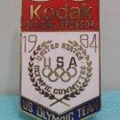1984 Los Angeles Olympic Pin Kodak Official Sponsor