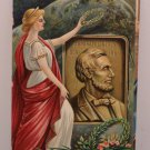 Antique Postcard President Lincoln by Chapman Embossed Divided Unposted
