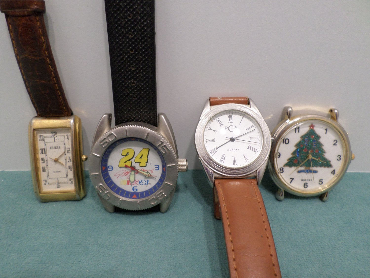 Vintage Wristwatches for Parts Mens Guess Nascar and more