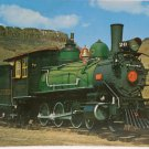 Real Photo Postcard Narrow Gauge Engine Train Built  in 1899 Unposted Divided
