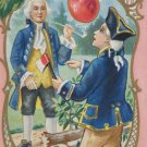 Antique Postcard George Washington Unposted Divided Embossed