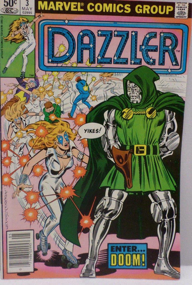 DAZZLER Enter Doom May 1981 No. 3 Marvel Comics Comic Book