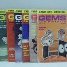 Gems and Minerals Magazine Jewelry Gems Minerals Feb Ap May Jun Sep Oct Nov 1973