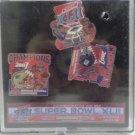 Super Bowl .LII 2007 Commemorative Pin Set Limited Edition 3475/5000 NIB