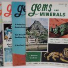 Gems and Minerals Magazine Jewelry Gems Minerals January March July August 1969