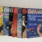 Jewelry Making Gems and Minerals Magazines Jan, Fb, Mr, Ap, My, Ag, Sep, Dc 1982