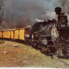 Real Photo Postcard 3854 The Last of the Narrow Gauge Trains Unposted Divided