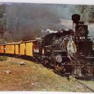 Real Photo Postcard 3894 famed narrow gauge excursion train Unposted