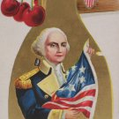 Antique George Washington Postcard Embossed Unposted Divided