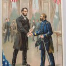Antique Postcard President Lincoln by Rapheal Tuck Divided Unposted