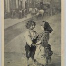 Antique Valentine Postcard Little Sweethearts Divided and Unposted
