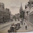 """Antique Real Photo Postcard of 45181 Oxford High St  Large 11 1/2"""" x 9"""""""