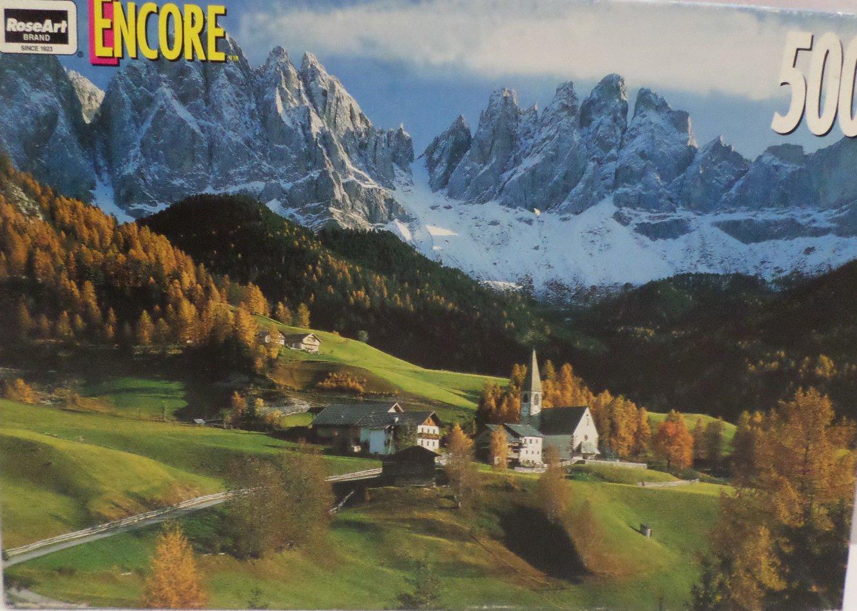 "500 piece jig saw puzzle ""Casse Tete""  by Rose Art 1998 NIB"