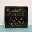 1984 Los Angeles Olympics Minute Maid Collector Pin