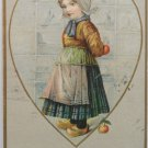 Antique 1907 Valentine Postcard by H Robbins Undivided and Posted