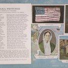 Antique Patriotic Postcard Barbara Fritchie Unposted Divided