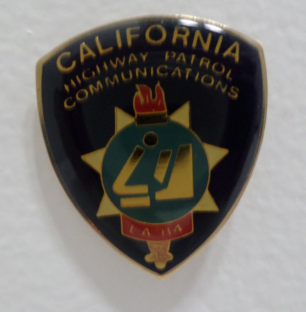 1984 Los Angeles Olympics Collector Pin California Highway Patrol Communications