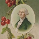 Antique Postcard President George Washington Germany Divided Embossed Unposted
