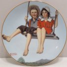 1985 Collector Plate Joy of Summer by Norman Rockwell by Heritage House