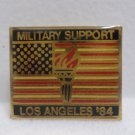 1984 Collector Pin Los Angeles Olympics Los Angeles Military Support