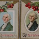 Antique Postcards George Washington Posted Divided Embossed