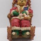Christmas Santa Claus Bear figurine Musical by Classic Treasures NIB