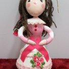 Kurt Adler Christmas Tree Ornament Wooden Ballerina