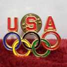 Los Angeles Olympic Collector Pin USA