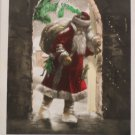 Antique Christmas Postcard Santa Claus Unposted Divided made in Germany