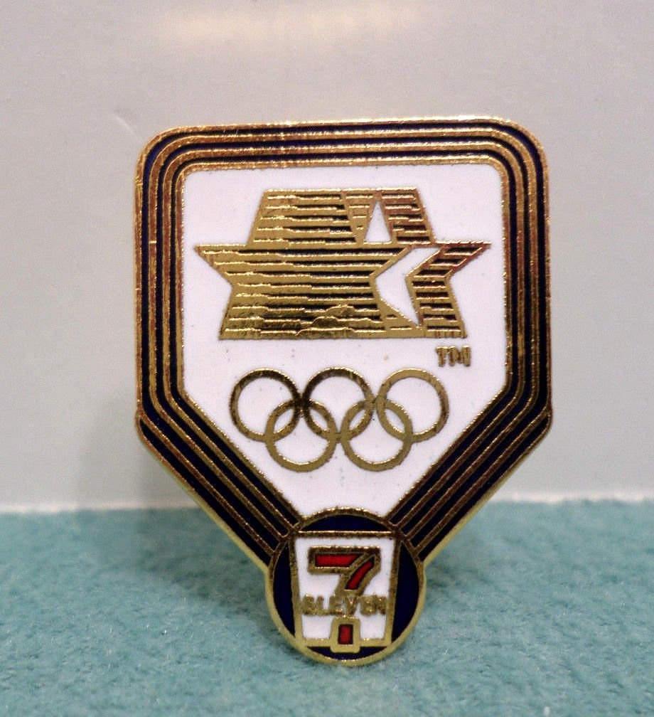 1984 Los Angeles Olympics Collector Pin 7-11 Convenience Store