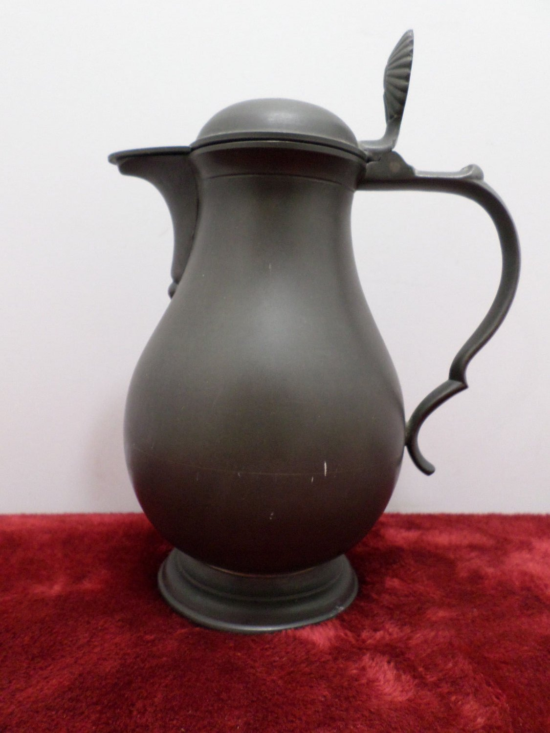 Antique Pewter Pitcher Etain Pur Made in Metowa Holland