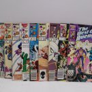 The West Coast Avengers 1985, 1986, 1987, 1989 Marvel Comics Comic Books