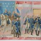 Antique George Washington Postcards Raphael Tuck Embossed Posted Divided 2 pcs