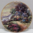 Collector Plate  A New Day Dawning by Thomas Kinkade August Simpler Times Series