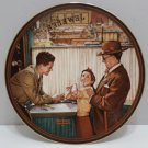 1989 Collector Plate A Time To Keep by Norman Rockwell Bradford Exchange