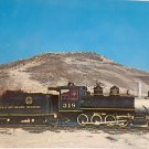 Real Photo Postcard Narrow Gauge Engine Train 318 Colorado Unposted Divided