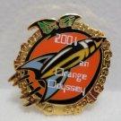 2004 Orange Odyssey Lapel Pin